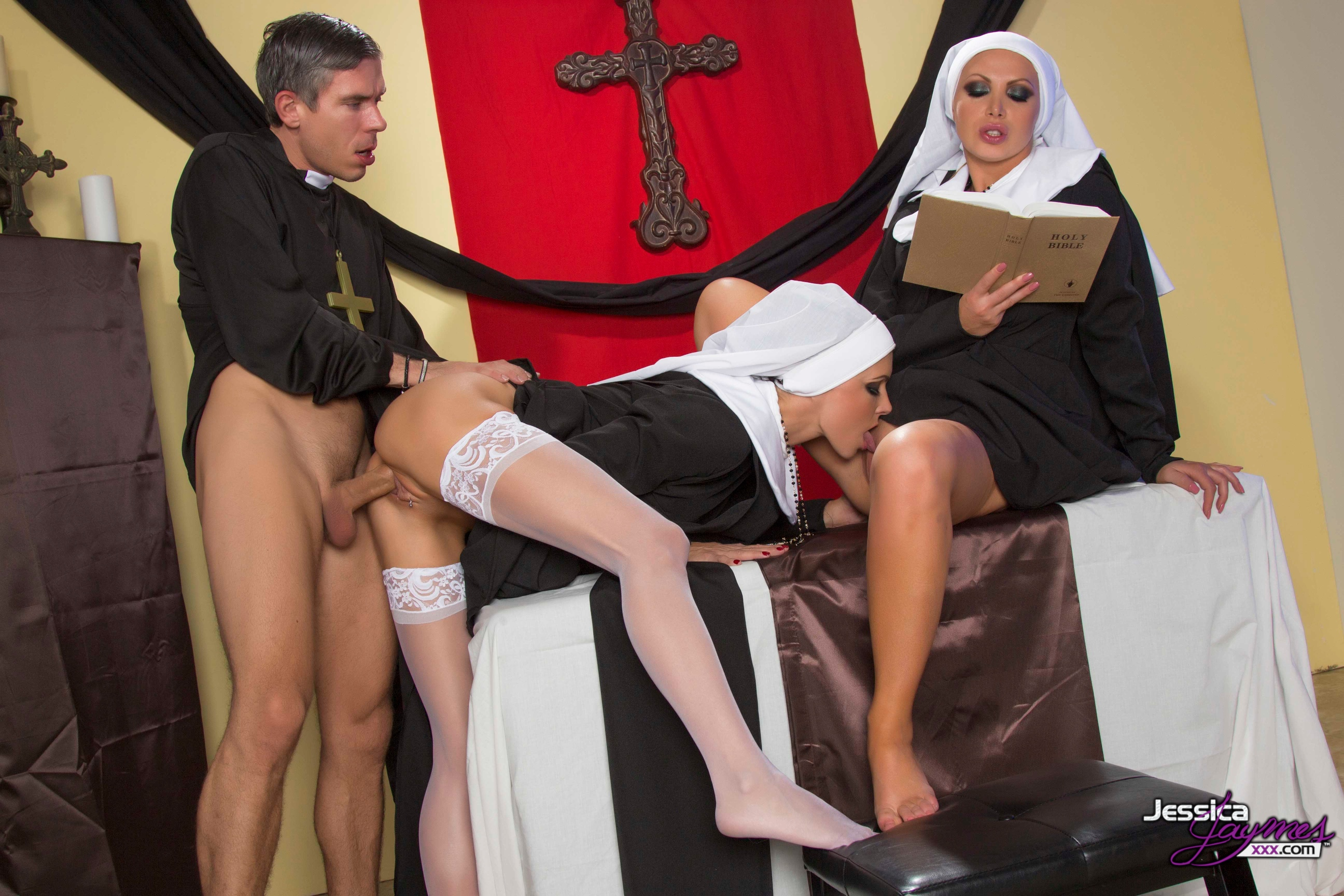 Lady priest fuck video erotic comic